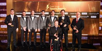 Credit Suisse Sports Awards: Gratulation an die Gewinner!