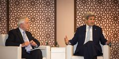 """John Kerry: """"You cannot put the globalization genie back in the bottle"""""""
