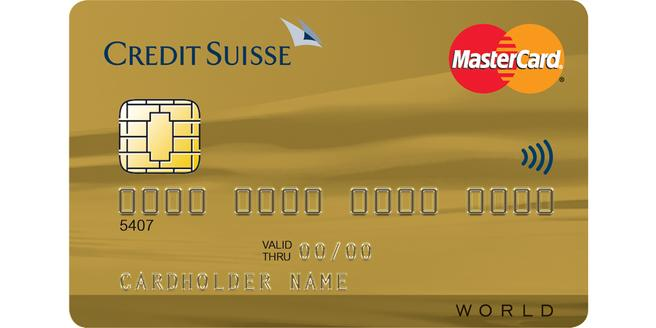 Credit Suisse World Mastercard Gold