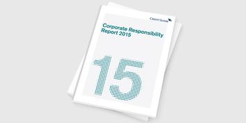 Credit Suisse Corporate Responsibility Report 2015